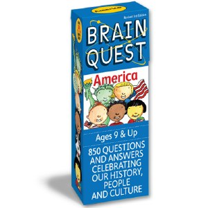 Brain Quest America Quiz Cards