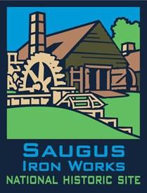 ANP Saugus Iron Works NHS Pin