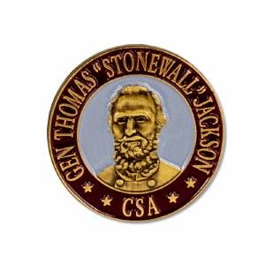 Gen. Thomas ''Stonewall'' Jackson Pin