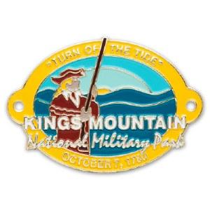 Kings Mountain National Military Park Hiking Stick Medallion