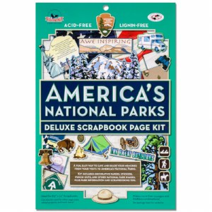 America's National Parks Deluxe Scrapbook Page Kit