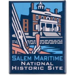 America's National Parks Collector's Series - Salem Maritime National Historic Site Magnet