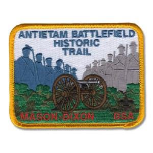 Antietam Battlefield Historic Trail Patch - Mason-Dixon BSA
