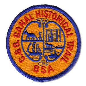 C&O Canal Trail Patch