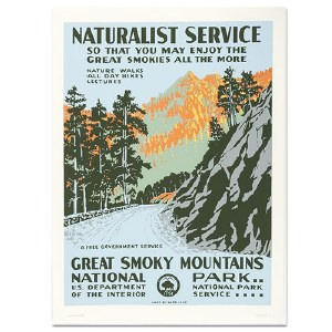 Great Smoky Mountains National Park WPA Travel Poster