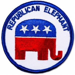 Republican Elephant Patch
