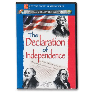 The Declaration of Independence DVD (Just the Facts Learning Series)