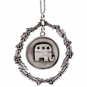 Ornament Republican Elephant