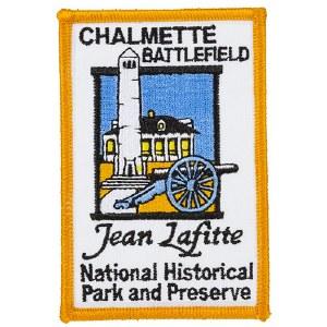 Jean Lafitte Chalmette Battlefield Patch