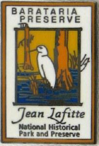 Jean Lafitte NHP&P Barataria Preserve Pin