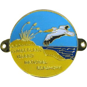 Cumberland Island Hiking Medallion