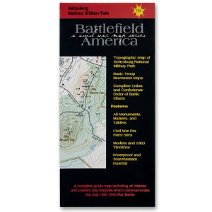 Battlefield America Gettysburg: A Civil War Map Series