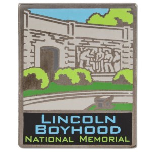 ANP Lincoln Boyhood Pin