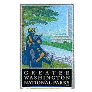 Greater Washington National Parks Pin