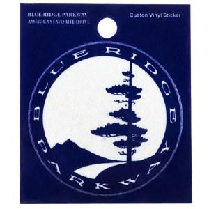 Blue Ridge Parkway Logo Vinyl Decal