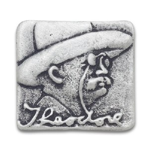 Theodore Roosevelt Fine Pewter Pin