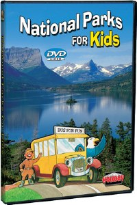 National Parks for Kids DVD
