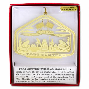Fort Sumter First Shots Ornament