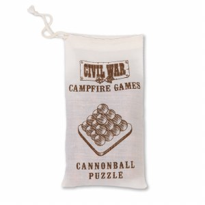 Civil War Cannonball Puzzle
