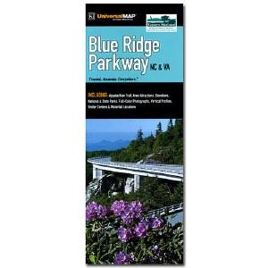 Blue Ridge Parkway Map (NC & VA)