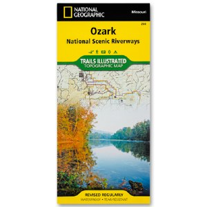 Ozark National Scenic Riverways Topographical Map