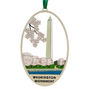 Washington Monument Ornament
