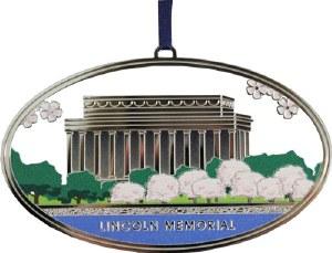 Lincoln Memorial Ornament