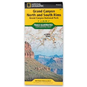 Grand Canyon National Park Trails Illustrated Map