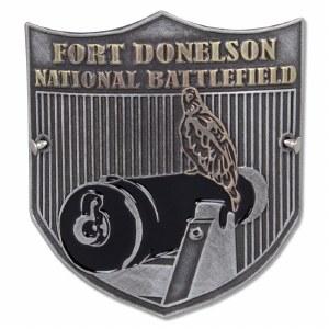 Fort Donelson National Battlefield Hiking Stick Medallion