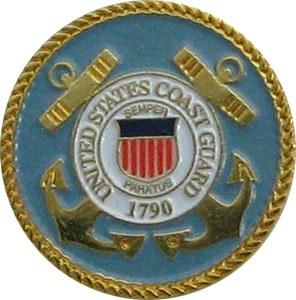 United States Coast Guard Lapel Pin