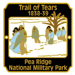 Trail of Tears Hiking Stick Medallion