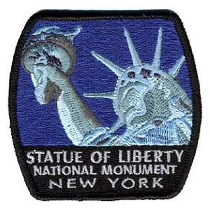 Statue of Liberty National Monument Embroidered Patch