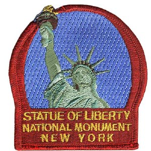 Statue of Liberty National Monument Patch