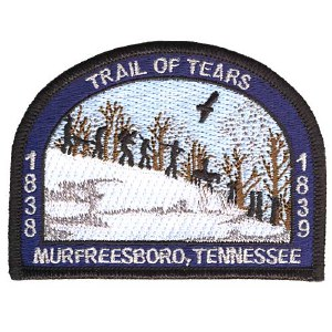 Trail of Tears of Tennessee Patch