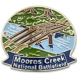 Moores Creek National Battlefield Hiking Stick Medallion