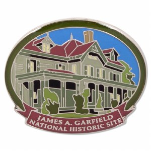 James A. Garfield NHS Pin