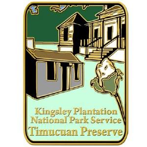 Kingsley Plantation Pin