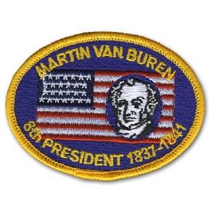 Martin Van Buren Embroidered Patch
