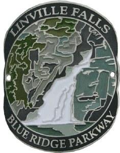 Blue Ridge Parkway: Linville Falls Hiking Medallion