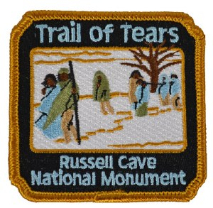 Russell Cave Trail of Tears Patch