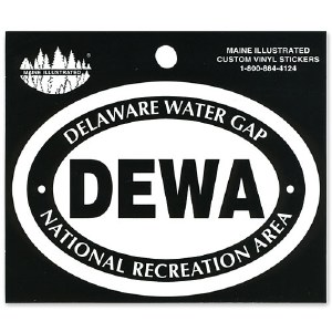 Delaware Water Gap Decal