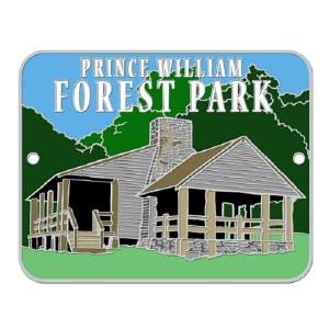 Prince William Forest Park Hiking Stick Medallion