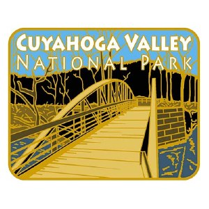 Cuyahoga Valley Towpath Trail Pin