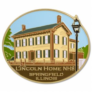 Lincoln Home NHS Magnet