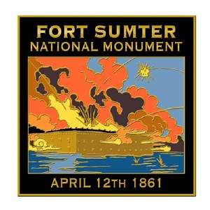 Fort Sumter National Monument Pin