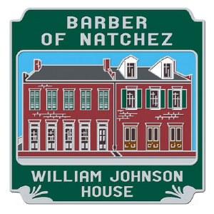 Natchez William Johnson House Pin