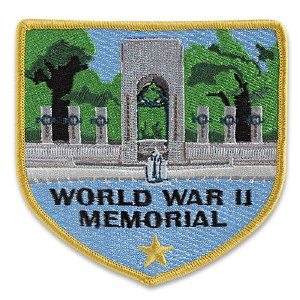 World War II Memorial Embroidered Patch