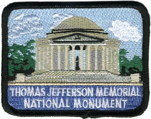 Thomas Jefferson Memorial Patch