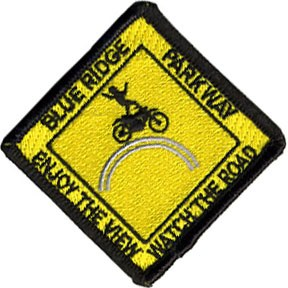 "Blue Ridge Parkway ""Watch the Road"" Patch"
