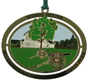 Henry House Ornament
